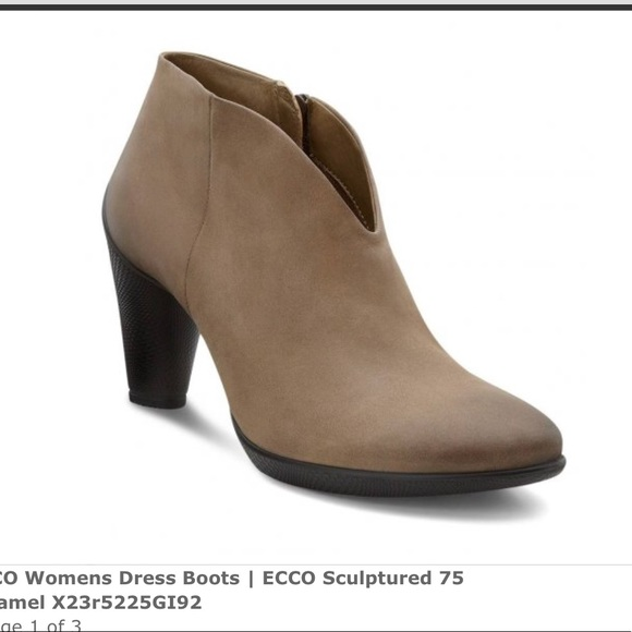 Ecco Sculptured Ankle Boots